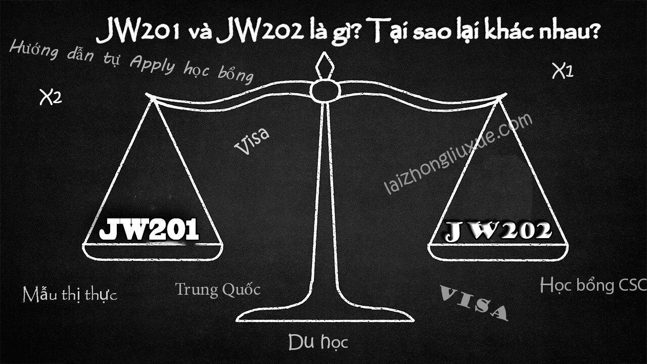 Jw201 Và Jw202 Là Gì? Khác Nhau Như Thế Nào?