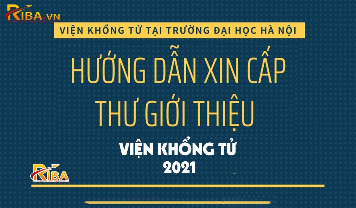 Huong Dan Xin Thu Gioi Thieu Vien Khong Tu 2021 2021