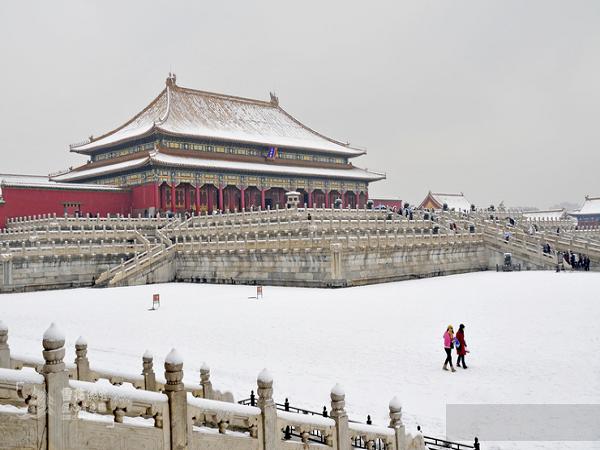 Ngắm Tuyết Rơi Ở Trung Quốc Bắc Kinh 2021