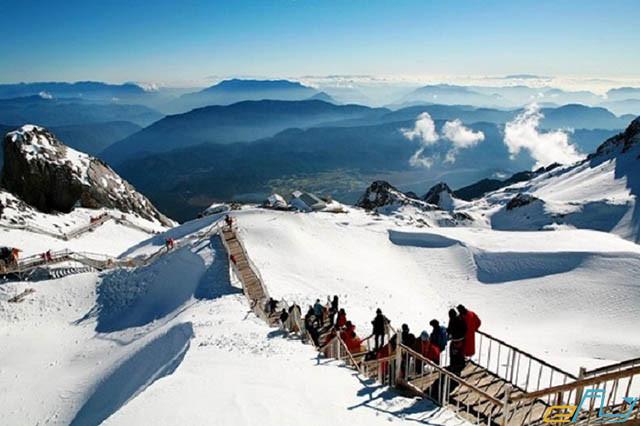 Ngắm Tuyết Rơi Ở Trung Quốc Vân Nam 2021