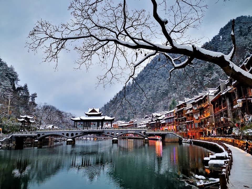 Ngắm Tuyết Rơi Ở Trung Quốc 2021
